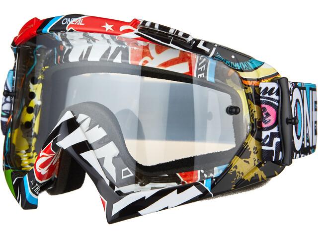 O'Neal B-10 Goggles, crank multi-clear